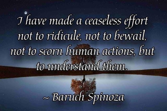 Spinoza positive  Quotes