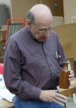 Photo: David Jacobowitz - square and round mahogany vase