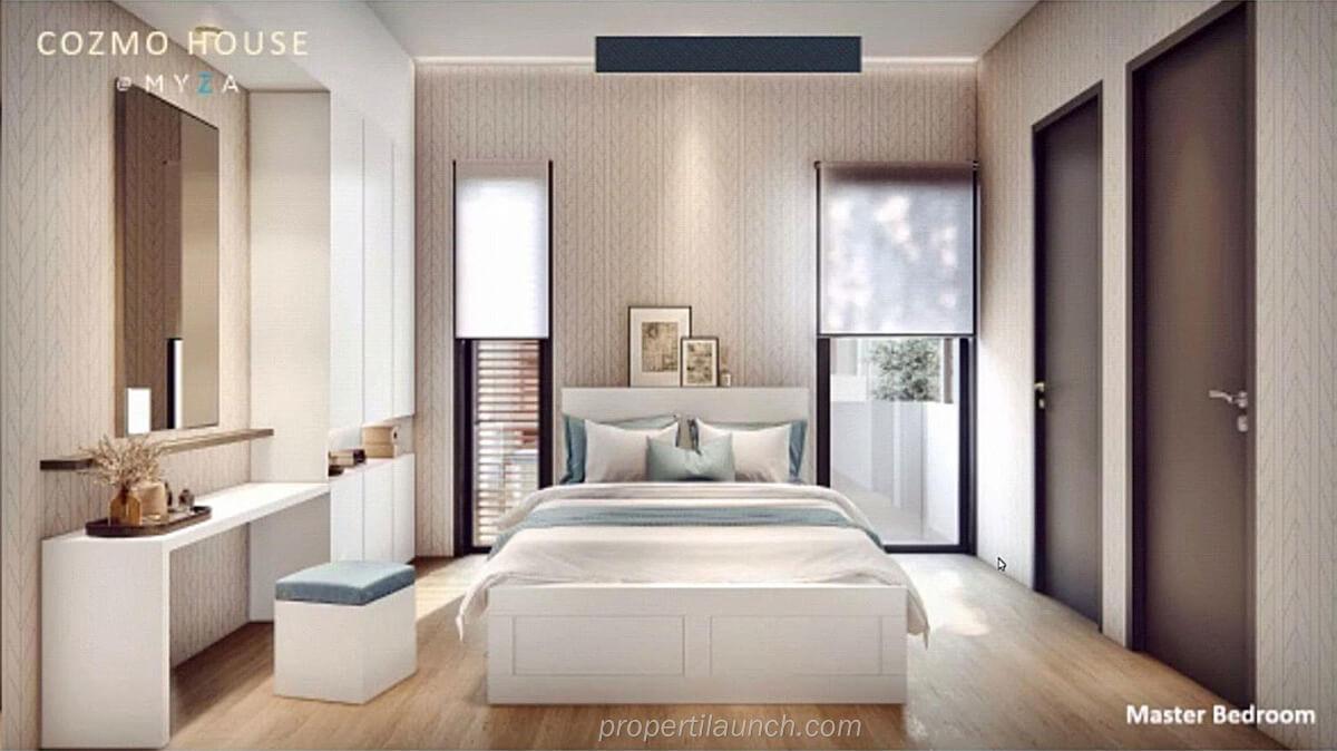 Master Bedroom CozmoHouse BSD