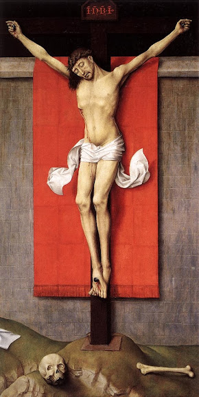 Rogier van der Weyden - Crucifixion Diptych (right panel)