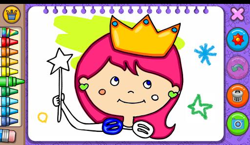 Princess Coloring Book & Games screenshots 9