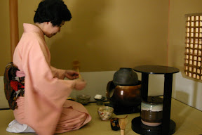 Tea ceremony, Imperial Hotel