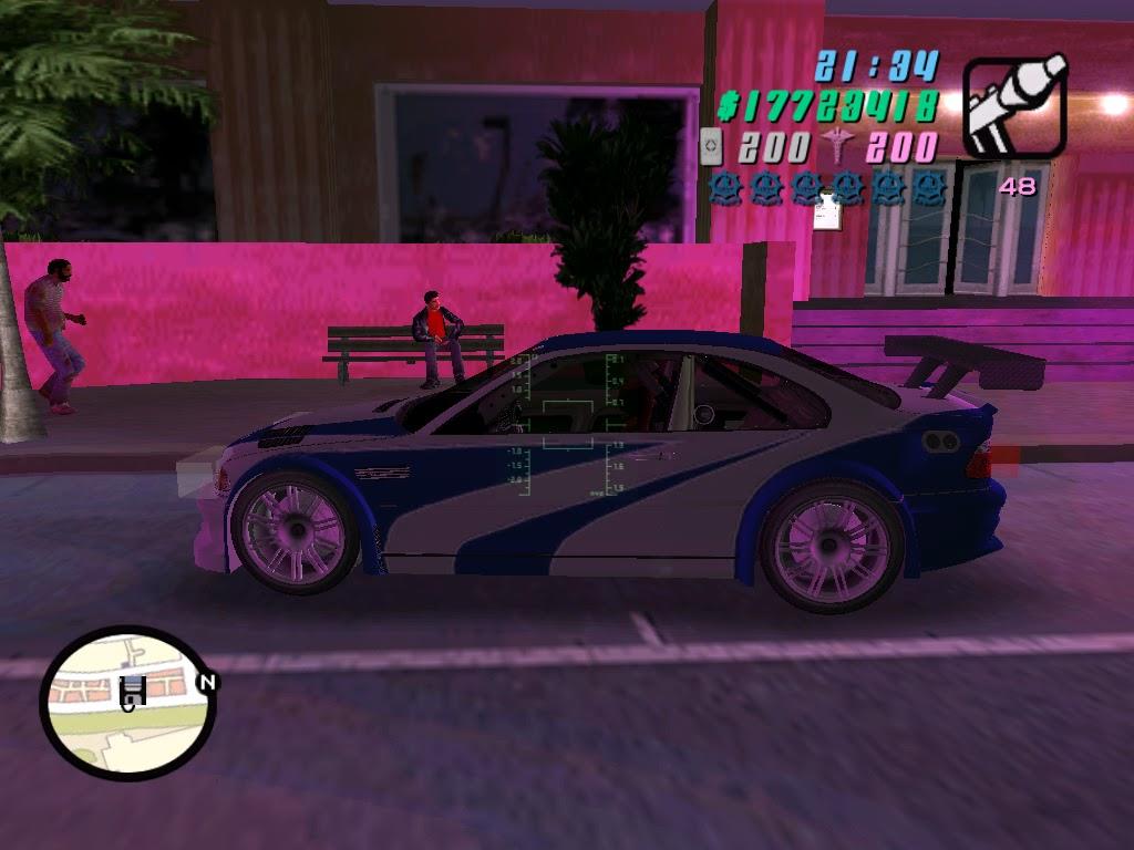 Gta vice city Expert: BMW M3 GTR