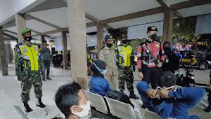 Kodim 1628/SB Bersama Polres KSB Dan Steakholde Terkait Terus Gelar Patroli Penegakan Prokes Covid -16