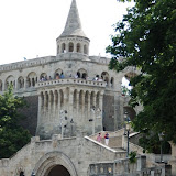 Fishermans Bastion from below