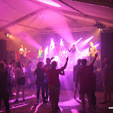 Coverband Stream feesttent dorpsfeest Hoogersmilde