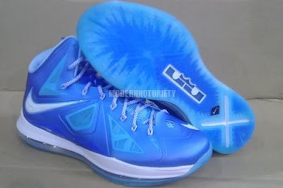 nike lebron 10 gr wind chill 2 04 sapphire Nike LeBron X Sapphire aka Wind Chill New Photos