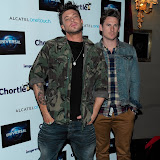 WWW.ENTSIMAGES.COM -  Duncan James and Lee Ryan  at   Chortle Comedy Awards at Café de Paris, Coventry Street, London, March 25th 2013                                                 Photo Mobis Photos/OIC 0203 174 1069