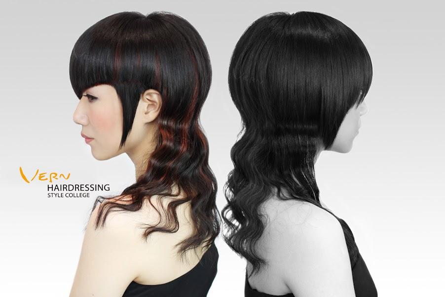 2013韋恩時尚對比髮型