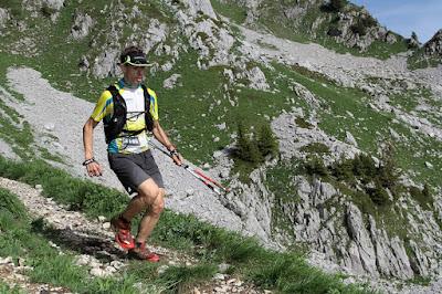 Trail des Crêtes du Chablais 2015 - Arnaud