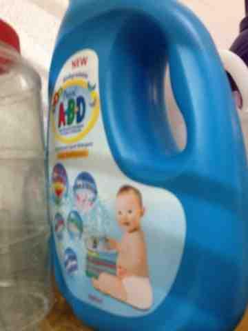 Detergent baby.