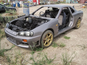 Abandoned Nissan R34