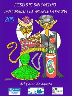 Programa oficial de las Fiestas de la Virgen de la Paloma 2015