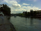 Am Donaukanal - Blick stromabwärts