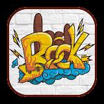 Rock Graffiti Theme(Keyboard) Icon