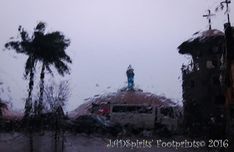 Not even typhoon Nina can stop us from visiting Padre Pio Shrine in Batangas
