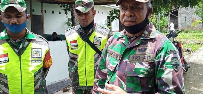 Danramil 1622-02/Pantar: TNI Selalu Hadir Dengan Pendekatan Pelayanan Yang Maksimal