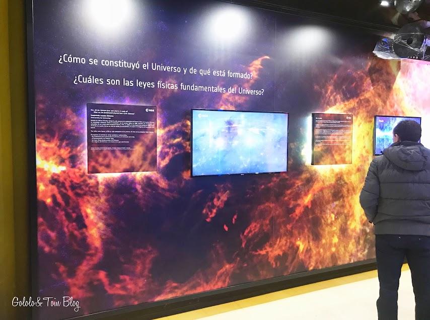 Exposiciones del Planetario de Madrid