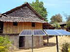 The 4 solar panels needed to light all school communal areas