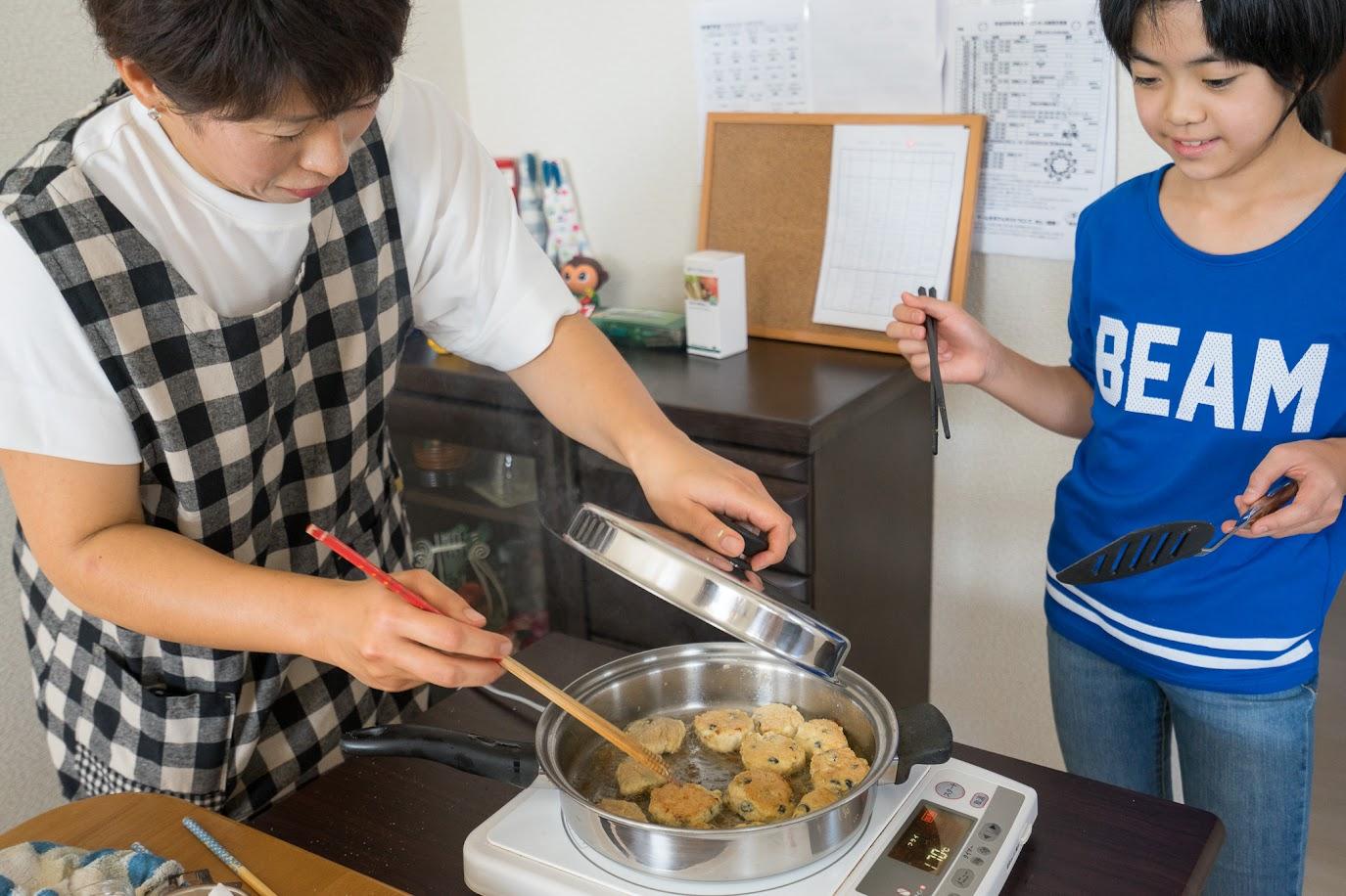 黒千石レシピ:黒千石のチキンナゲット・作り方