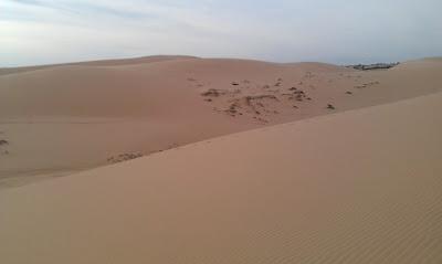 Mui Ne yellow sand dunes