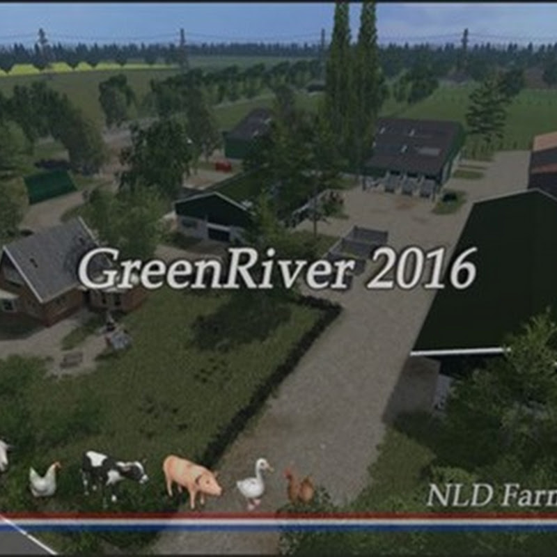 Farming simulator 2016 - Green River 2016 v 2.1