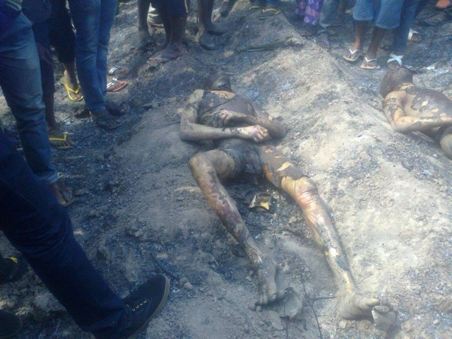 PHOTOS: Over 100 Die In Nnewi Gas Plant Explosion 14