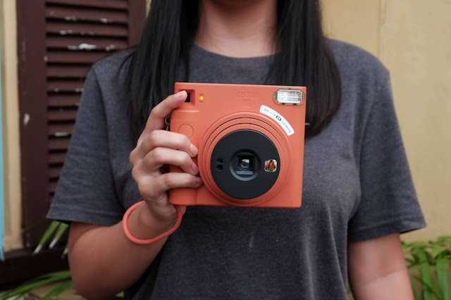 Patty Villegas - The Lifestyle Wanderer - Top 2020 Tech and Lifestyle Discoveries - Review - Fujifilm - Instax - SQ1 - Instant Camera