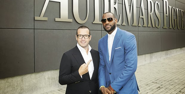 LeBron James and Francois Henry Bennahmias