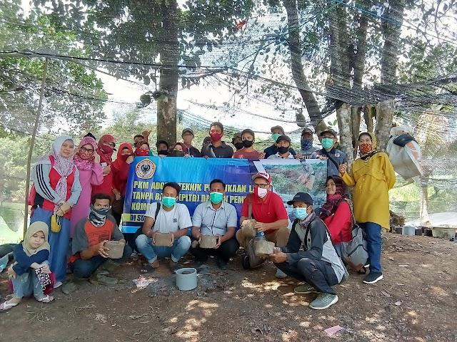 Tim Dosen Fahutan ULM Lakukan Pengabdian Masyarakat