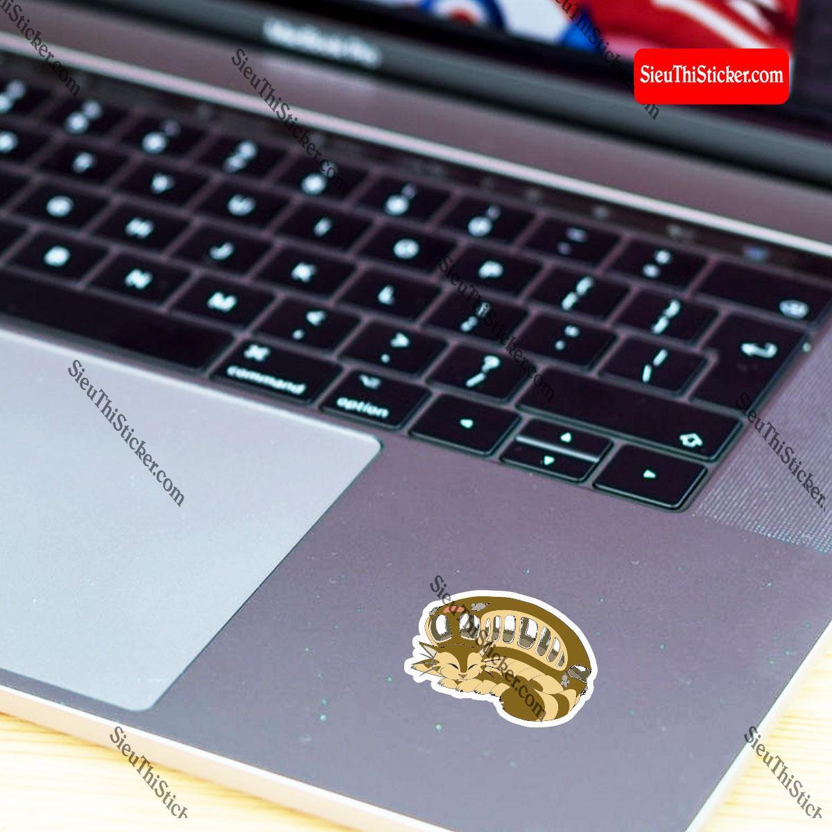 hình dán laptop totoro