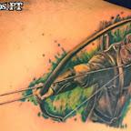 scapula Legolas - tattoos for women