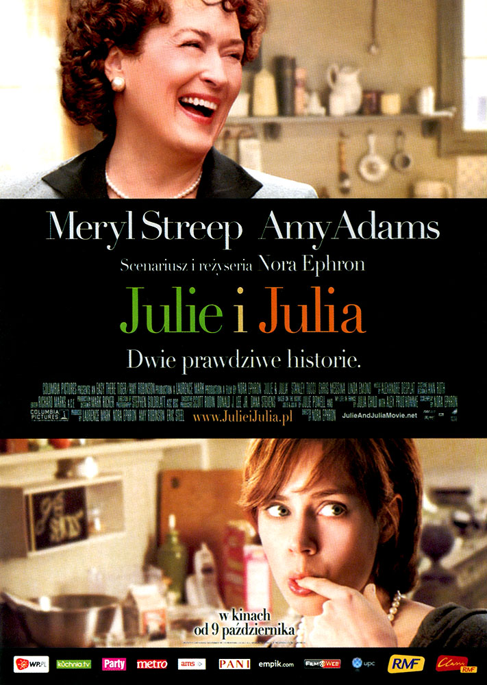 Ulotka filmu 'Julie i Julia (przód)'