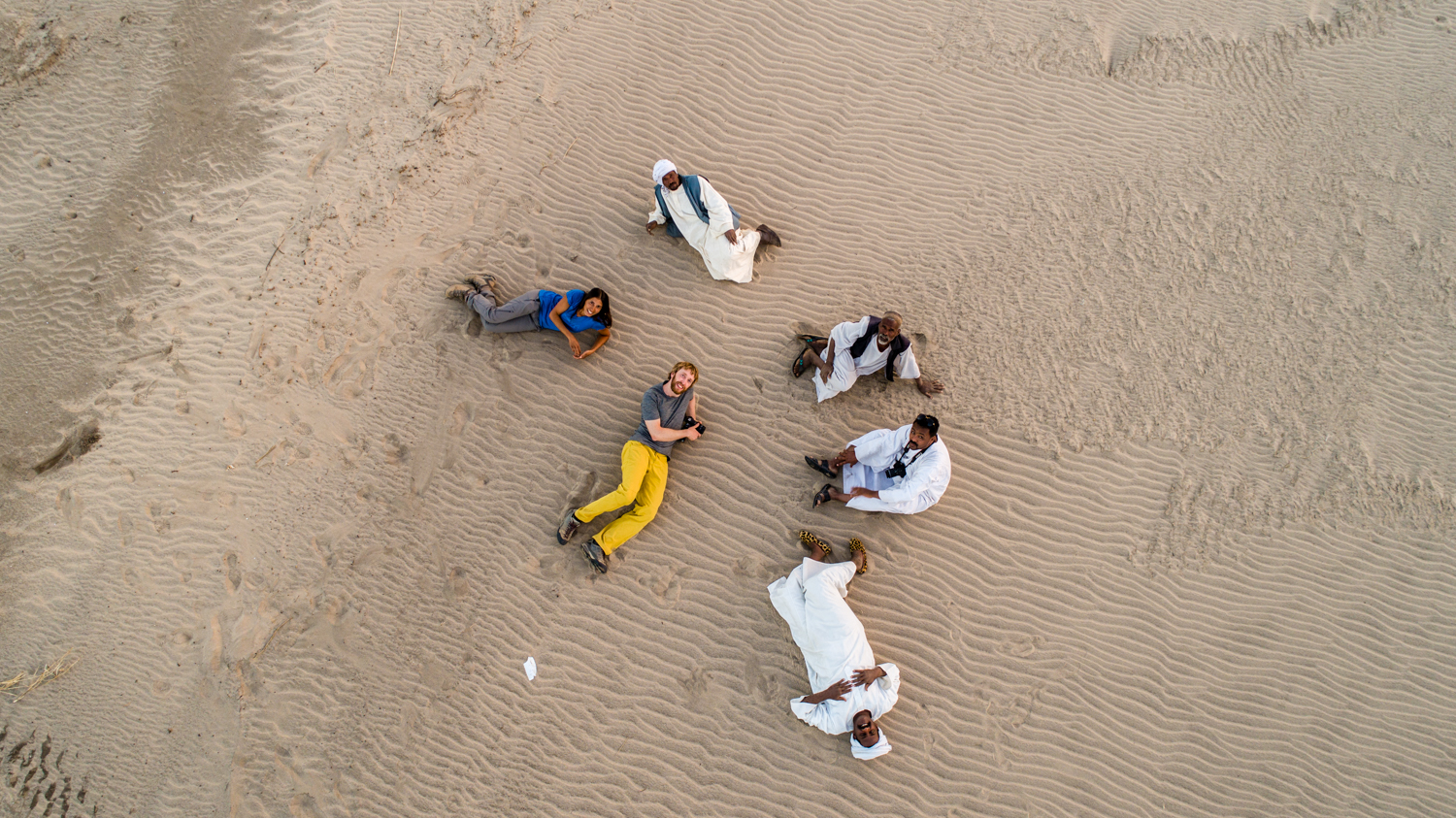 Sudanese hospitality photo DJI phantom drone sudan