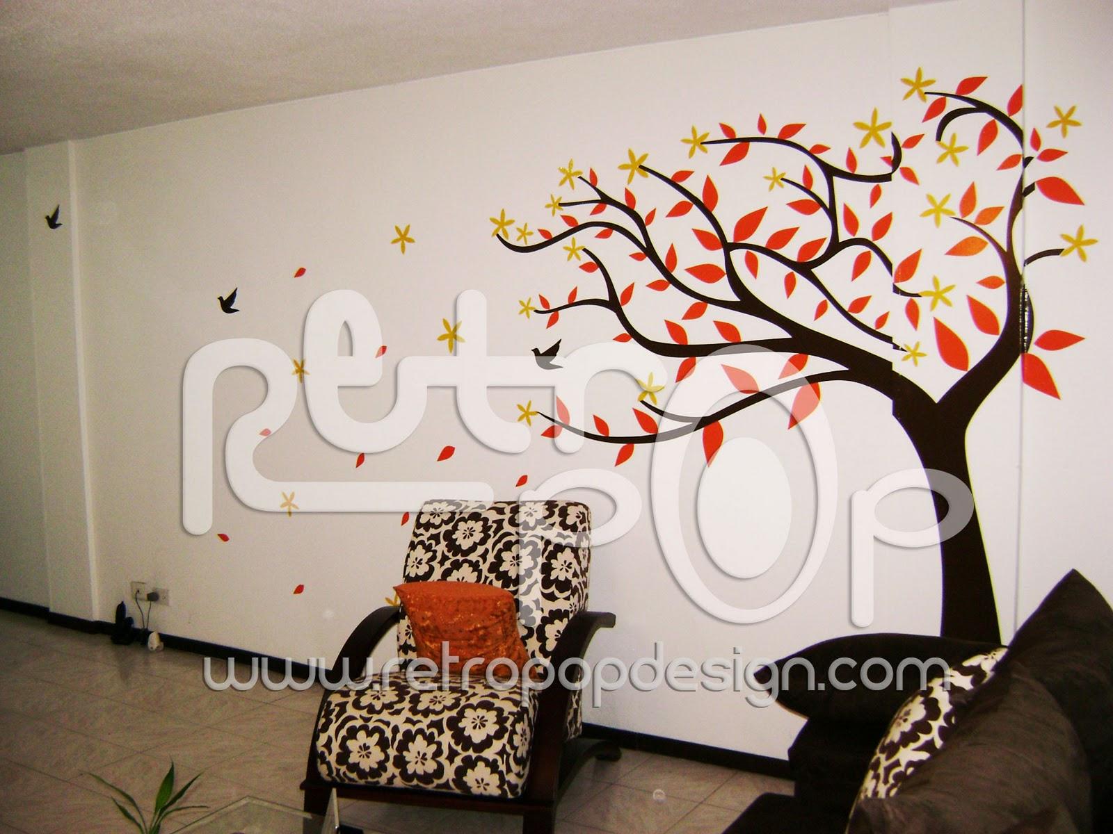 Vinilos decorativos retropop vinilos decorativos retropop for Vinilos decorativos arboles