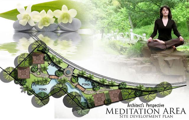 Amiya Resort Residences Meditation Area
