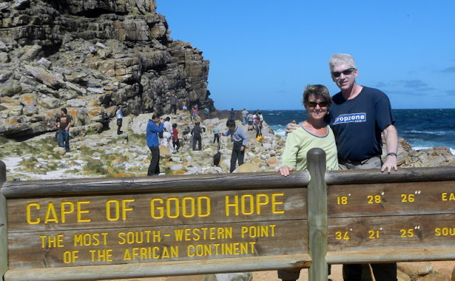 At Cape of Good Hope