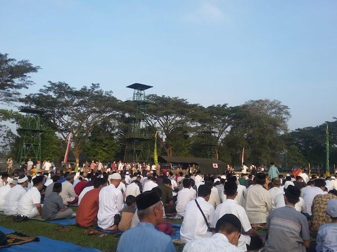 Shalat Idul Fitri 1440 H di Lapangan Rindam IV Diponegoro kota Magelang