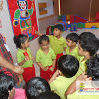 Sense Booth Activity By JR KG Section at Witty World, Bangur Nagar (2017-2018)