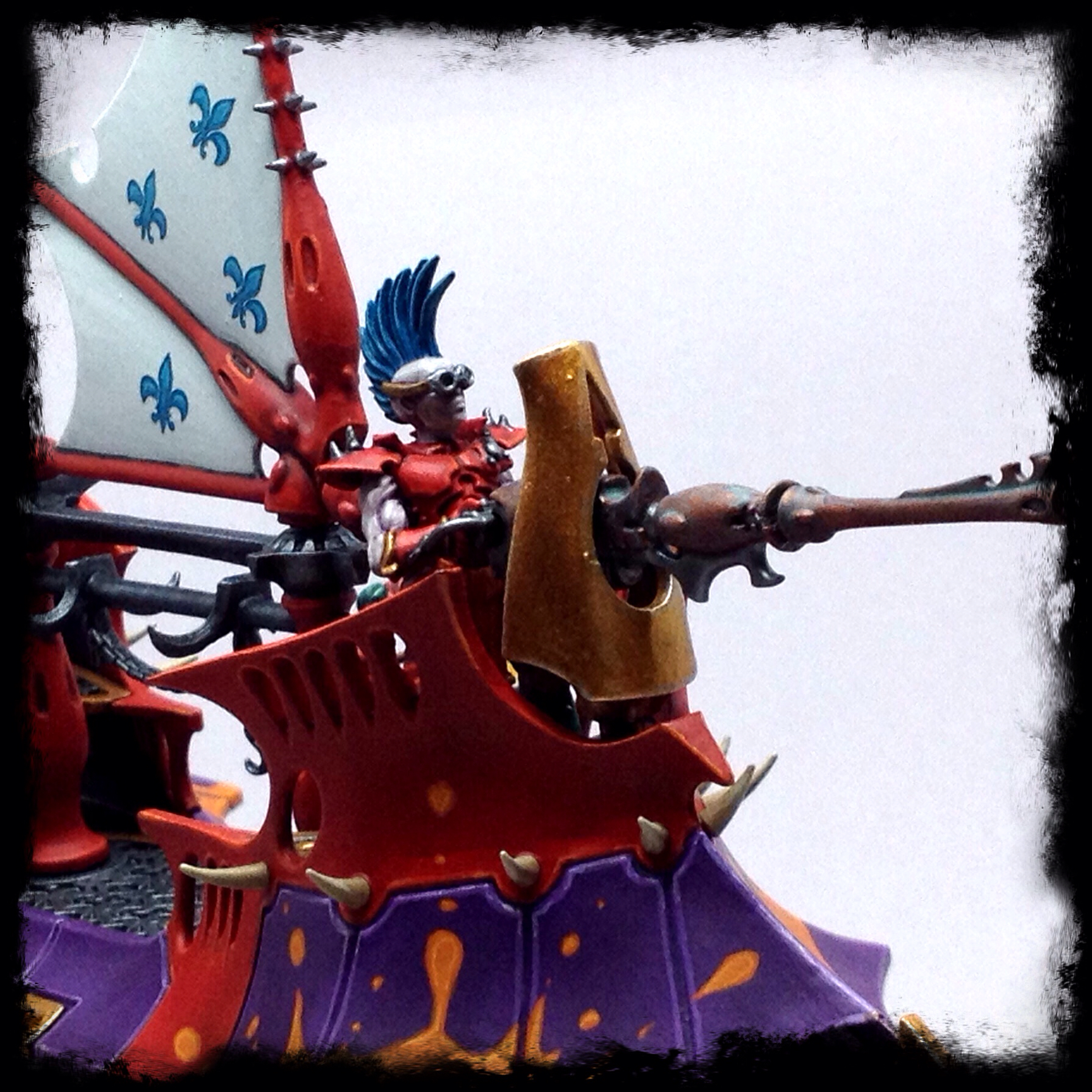 Objective Secured Pimpin Dat Ride Dark Eldar Carnival Raider