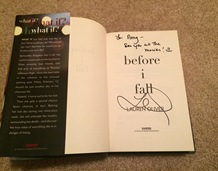 Before I Fall signed