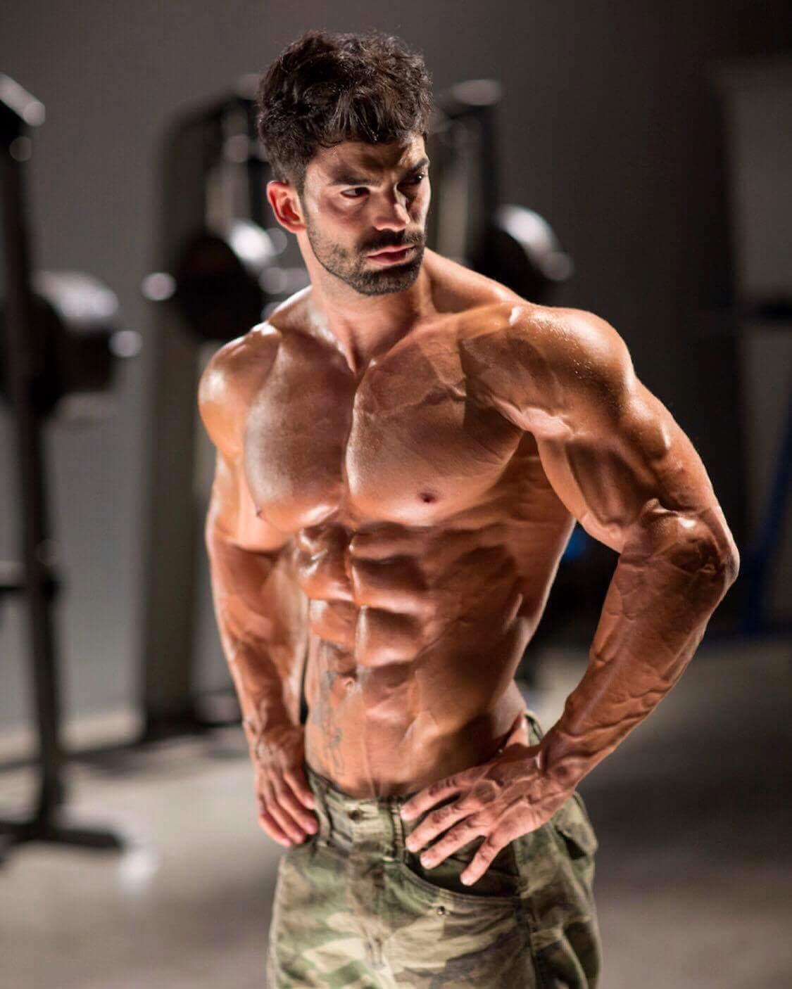 build body works fitness model sergi constance