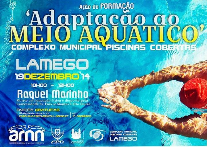 """Piscinas de Lamego recebem formação dedicada à """"Adaptação ao Meio Aquático"""""""