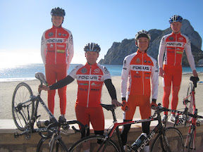 Trainingslager Calpe 2014