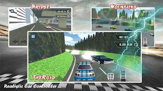لعبة عربيات Thunder Race 1