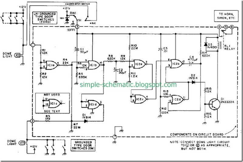 auto-vehicle-security-system-design-circuit-diagram