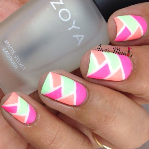matte-neon-fishtail-nails