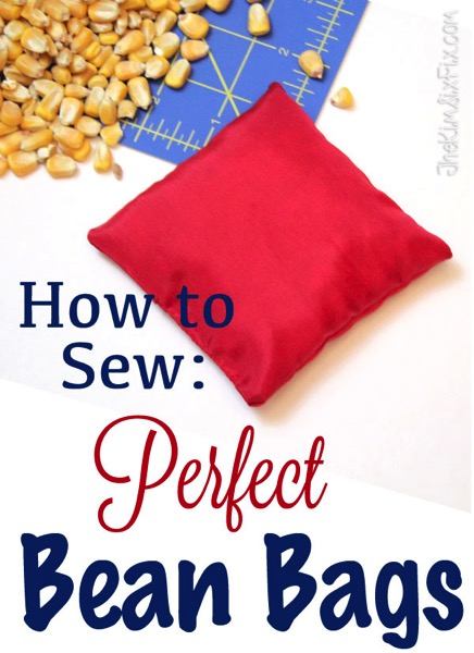 How To Sew The Perfect Bean Bag For Only Pennies The Kim Six Fix