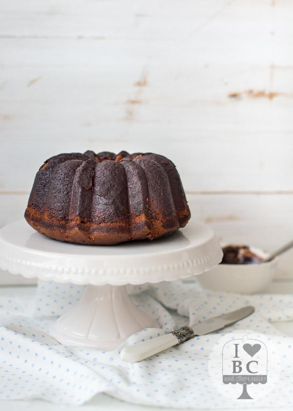 Nutella Milkshake Bundt Cake