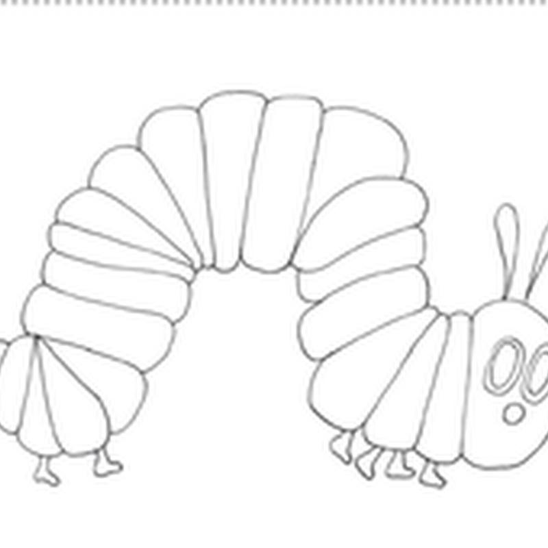 Dibujo de gusano para colorear
